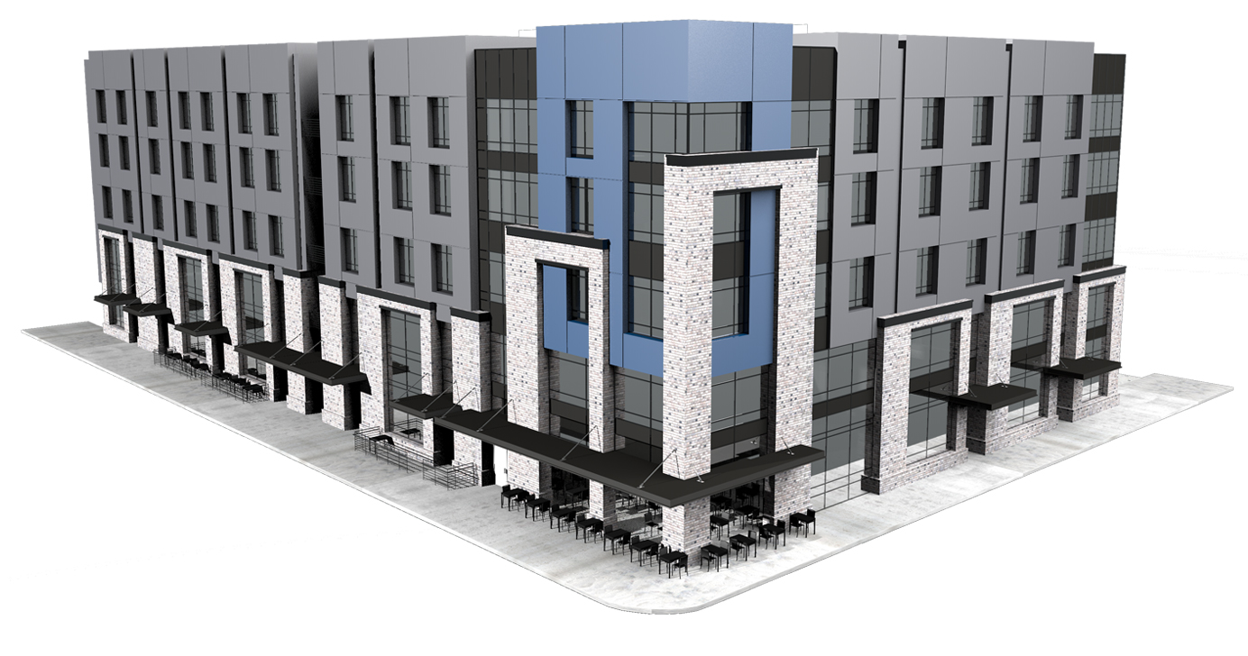 5 west bozeman residential floor plans for Retail apartment plans